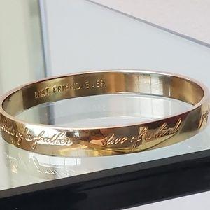 kate spade bracelet best  friend ever